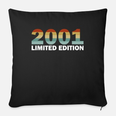 20th 20th Birthday Vintage 2001 Gift Idea Vintage - Sofa pillow with filling 45cm x 45cm