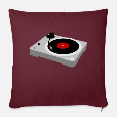 Turntable Turntable / Turntable - Sofa pillow with filling 45cm x 45cm