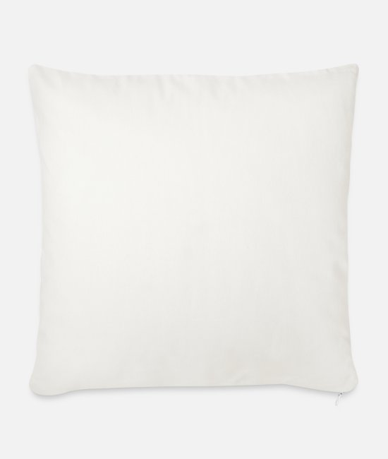 Statement Pillow Cases - Net Neutrality for everyone. - Sofa pillow with filling 45cm x 45cm natural white