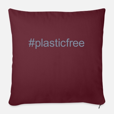 plastic free - Sofa pillow with filling 45cm x 45cm