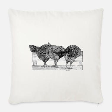 Nature at the buffet - Sofa pillow with filling 45cm x 45cm