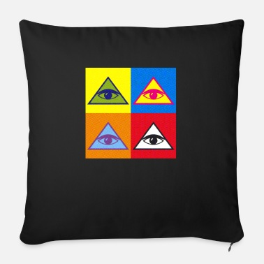 Masonic pyramid - Sofa pillow with filling 45cm x 45cm