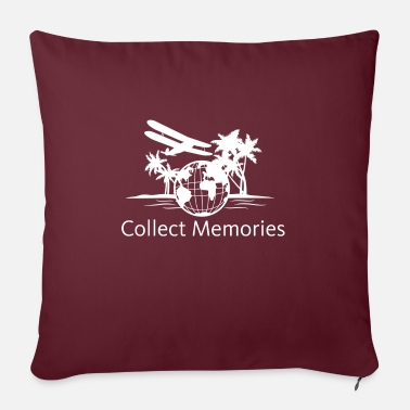 Collect Memories Collect memories gift - Sofa pillow with filling 45cm x 45cm