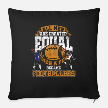 Football American football - Sofa pillow with filling 45cm x 45cm