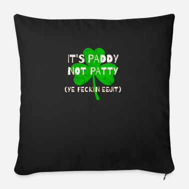 Feckin Feckin Eejit Distressed for St Paddy's Day - Sofa pillow with filling 45cm x 45cm