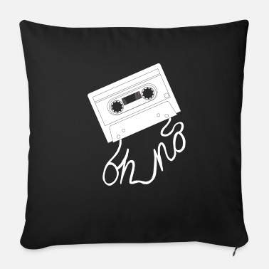 Band Salad Retro music cassette with band salad T-shirt gift - Sofa pillow with filling 45cm x 45cm