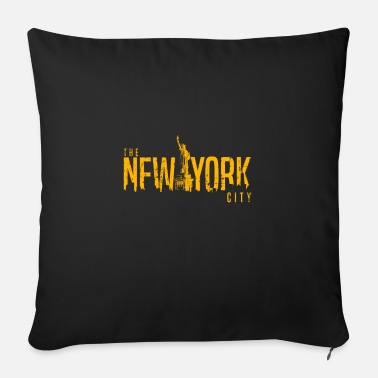 Statue of Liberty New York USA travel - Sofa pillow with filling 45cm x 45cm