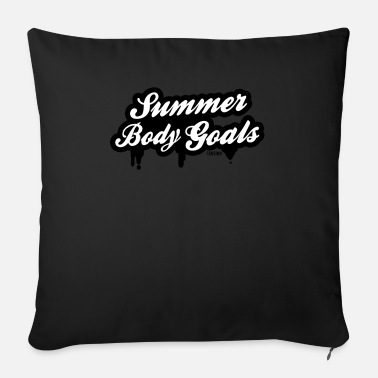 Body Target Body Summer Body - Sofa pillow with filling 45cm x 45cm