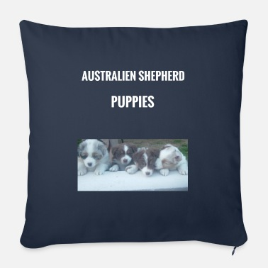 Puppies puppies - Sofa pillow with filling 45cm x 45cm