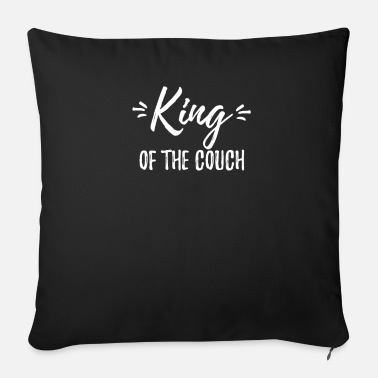 King King of the couch - Sofa pillow with filling 45cm x 45cm