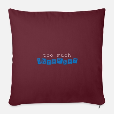 Internet Internet - Sofa pillow with filling 45cm x 45cm