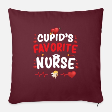 Favorite Nurse Cupid's Favorite Nurse - Sofa pillow with filling 45cm x 45cm