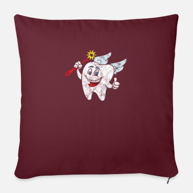 Dental Care Children's dental care motif - Sofa pillow with filling 45cm x 45cm