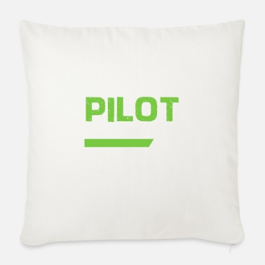 Flight School Pilot flight school - Sofa pillow with filling 45cm x 45cm