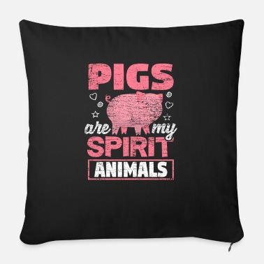 Pigs Pig heart - Sofa pillow with filling 45cm x 45cm