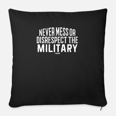 Army Military clothing soldier veteran tanks - Sofa pillow with filling 45cm x 45cm