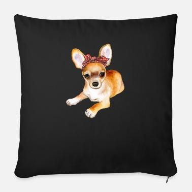 Cute Chihuahua dog mom mothers day missus gift - Sofa pillow with filling 45cm x 45cm