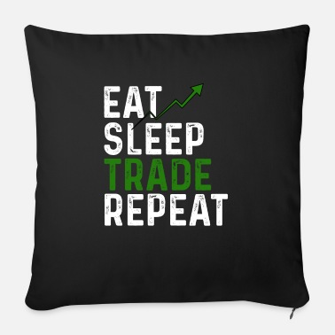 Trade Trading day trading - Sofa pillow with filling 45cm x 45cm