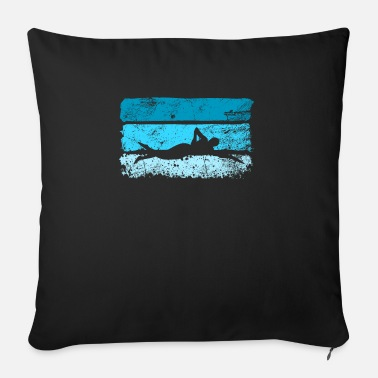 Scratch Swimmer swimming - Sofa pillow with filling 45cm x 45cm