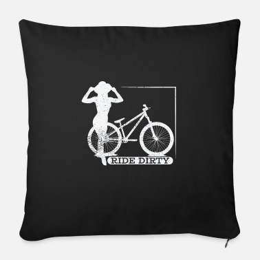 Riding School Ride dirty - Sofa pillow with filling 45cm x 45cm