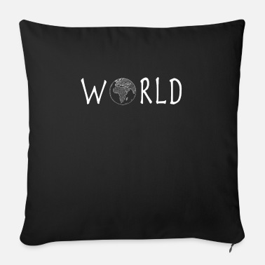 Journey World Earth - Sofa pillow with filling 45cm x 45cm