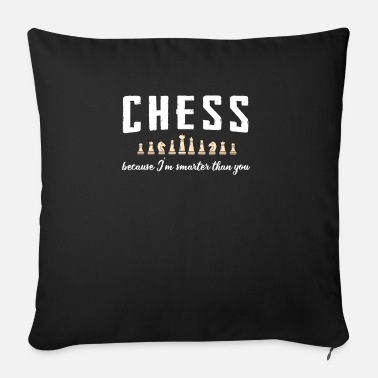 Chess Chess chess - Sofa pillow with filling 45cm x 45cm