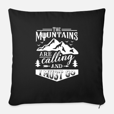 Mountains Mountains Mountaineering Mountaineers Mountaineering Mountains - Sofa pillow with filling 45cm x 45cm