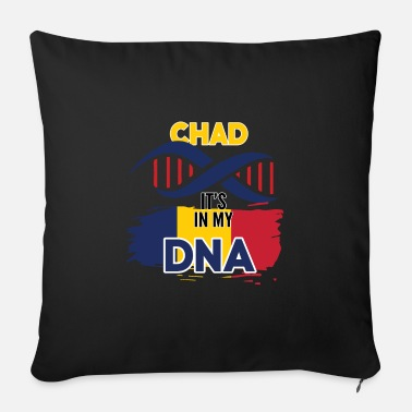 World Chad is in my DNA - Sofa pillow with filling 45cm x 45cm