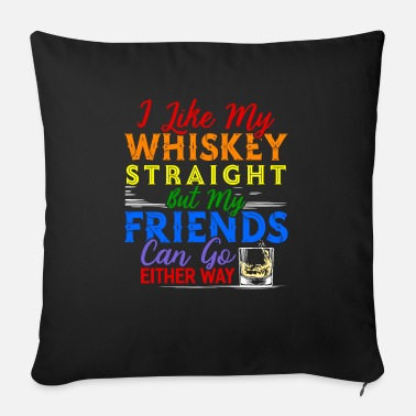 Whisky Whisky Whisky Scotch Single Malt Bourbon Regalo - Cuscino da divano 44 x 44 cm con riempimento