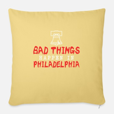 Philly Philly Liberty Bell Come To Philly for the Crack - Sofapude med fyld 44 x 44 cm