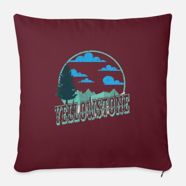 Helped Dome Yellowstone National Park Outdoor Hiking - Sofa pillow with filling 45cm x 45cm