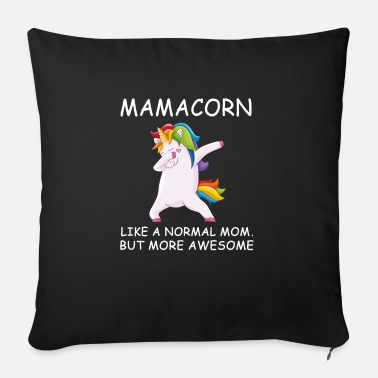 St Patricks mamacorn mama unciorn - Sofa pillow with filling 45cm x 45cm