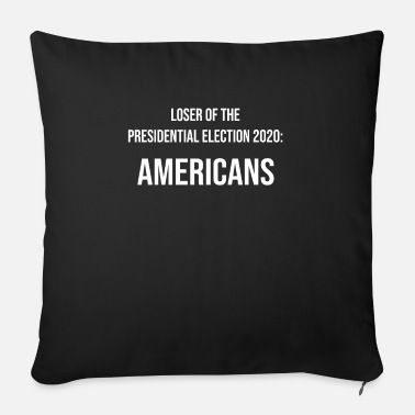 Obama Loser of the Presidential Election 2020 : Americans - Coussin et housse de 45 x 45 cm
