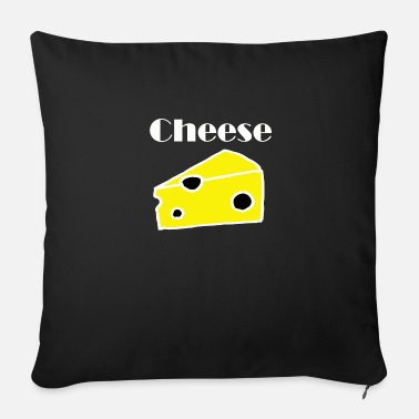 Cheese Cheese cheese - Sofa pillow with filling 45cm x 45cm