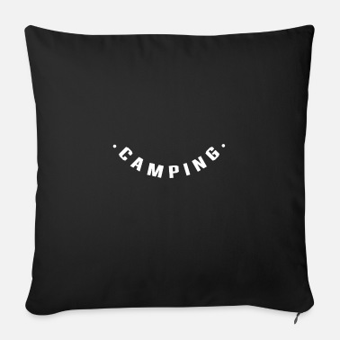 To Camp Camping camp - Sofa pillow with filling 45cm x 45cm