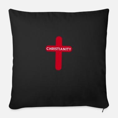Cross Christianity Cross Christianity - Sofa pillow with filling 45cm x 45cm