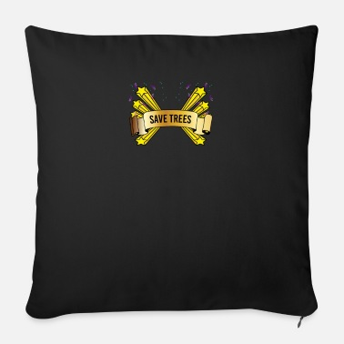 Save the trees - Sofa pillow with filling 45cm x 45cm