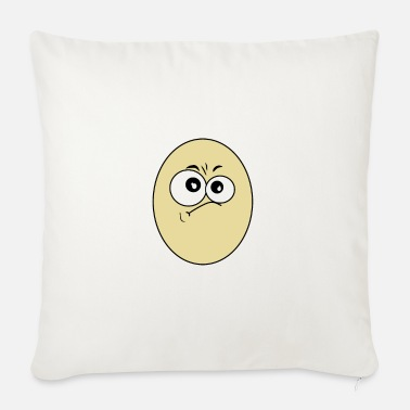 Egg EGG with egg head - Sofa pillow with filling 45cm x 45cm