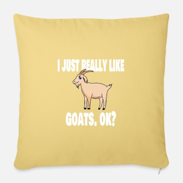 Goat Lovers Goat goat lovers funny - Sofa pillow with filling 45cm x 45cm