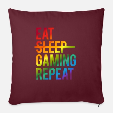 Gaming - Sofa pillow with filling 45cm x 45cm