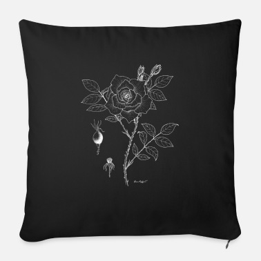 Botanical Rose Botanical Plate - Sofa pillow with filling 45cm x 45cm