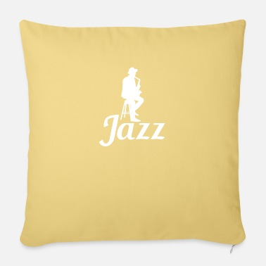 Music Direction JAZZ - MUSIC DIRECTION - MUSIC - TONES - HOBBY - Sofa pillow with filling 45cm x 45cm