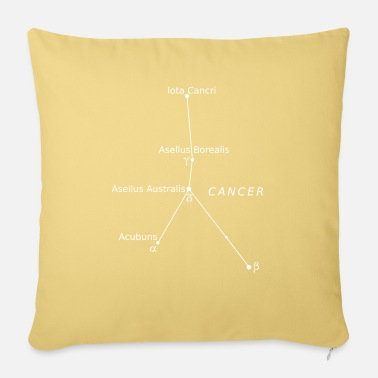 Cancer cancer cancer - Sofa pillow with filling 45cm x 45cm