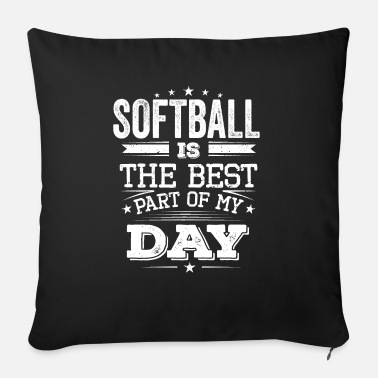 Cool retro softball team squad champion - Sofa pillow with filling 45cm x 45cm