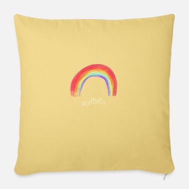 Positive positivity - Sofa pillow with filling 45cm x 45cm