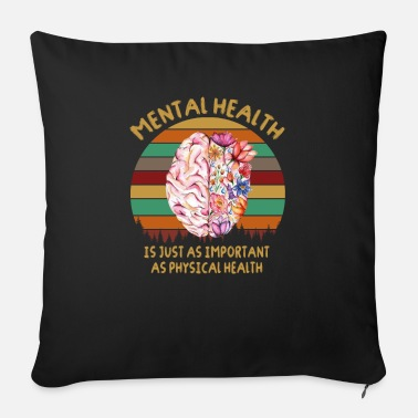 Mental Health Mental Health - Sofa pillow with filling 45cm x 45cm