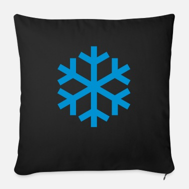 Icon Snowflake Weather Icon Icon - Sofapude med fyld 44 x 44 cm