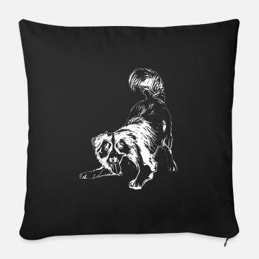 Collie collie - Sofa pillow with filling 45cm x 45cm