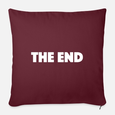End Game THE END - Sofa pillow with filling 45cm x 45cm