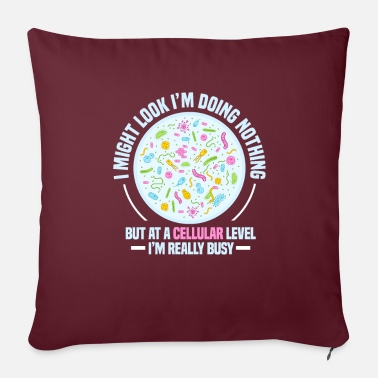 Biology biology - Sofa pillow with filling 45cm x 45cm